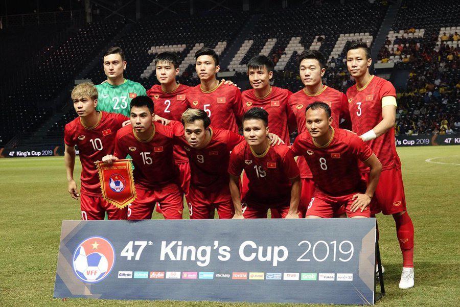 Tuyển Việt Nam tiếp tục thăng tiến trên BXH FIFA - Ảnh 1.