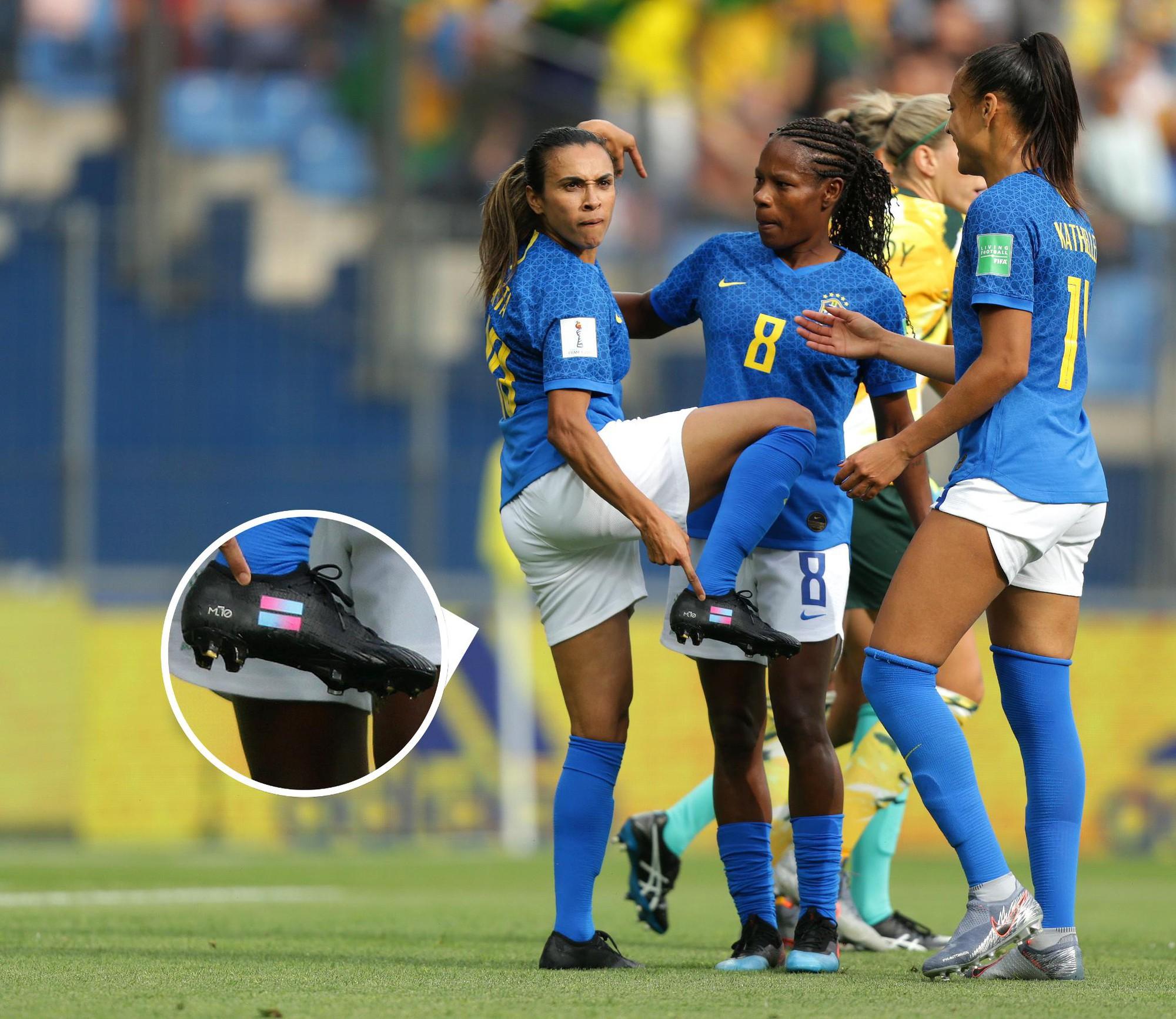 CHÍNH THỨC: Ronaldinho phiên bản nữ san bằng thành tích của Klose tại World Cup - Ảnh 1.