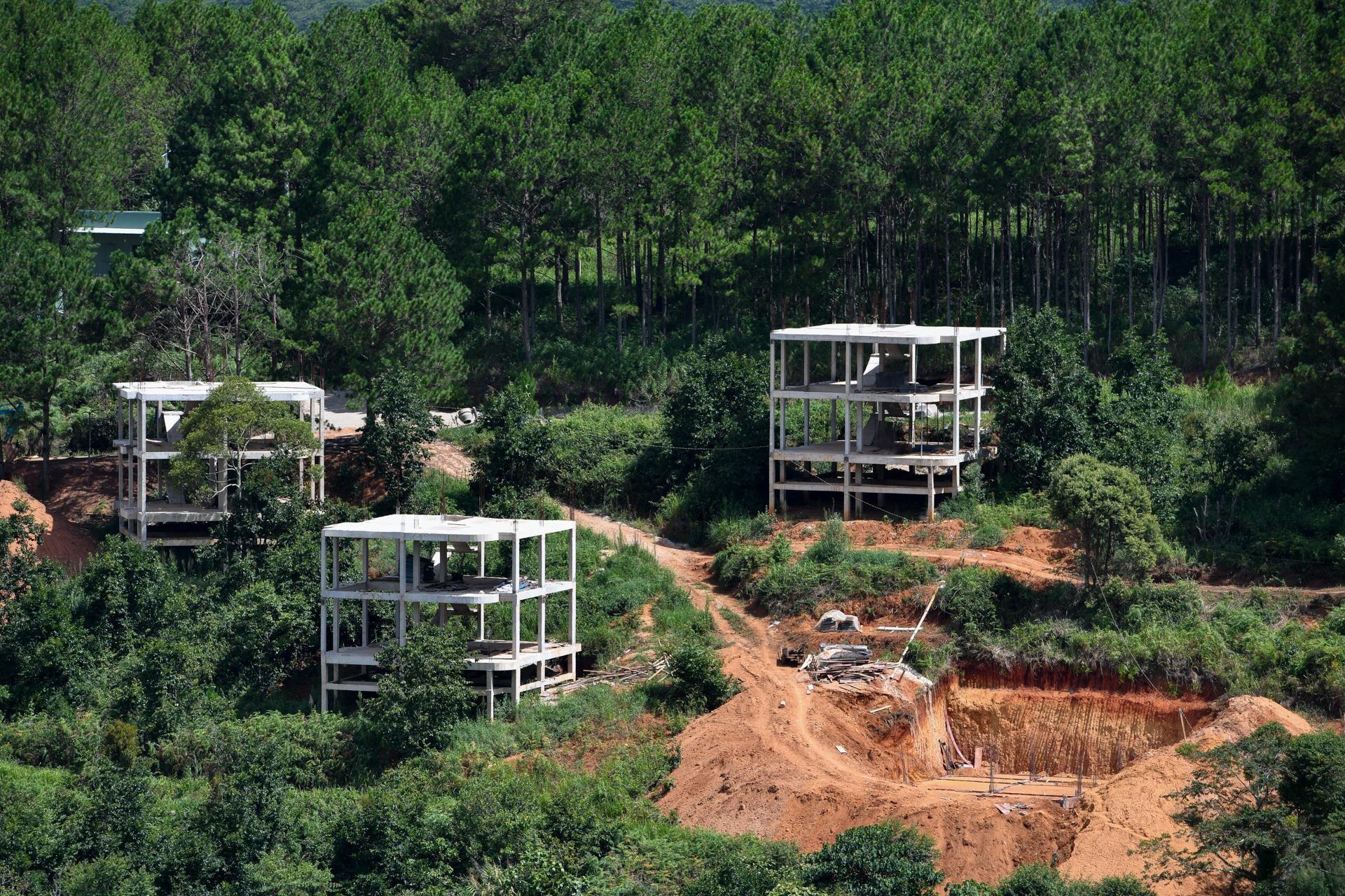 Nhiều dự án bất động sản sai phạm 'bao vây' hồ Tuyền Lâm ở Đà Lạt - Ảnh 13.