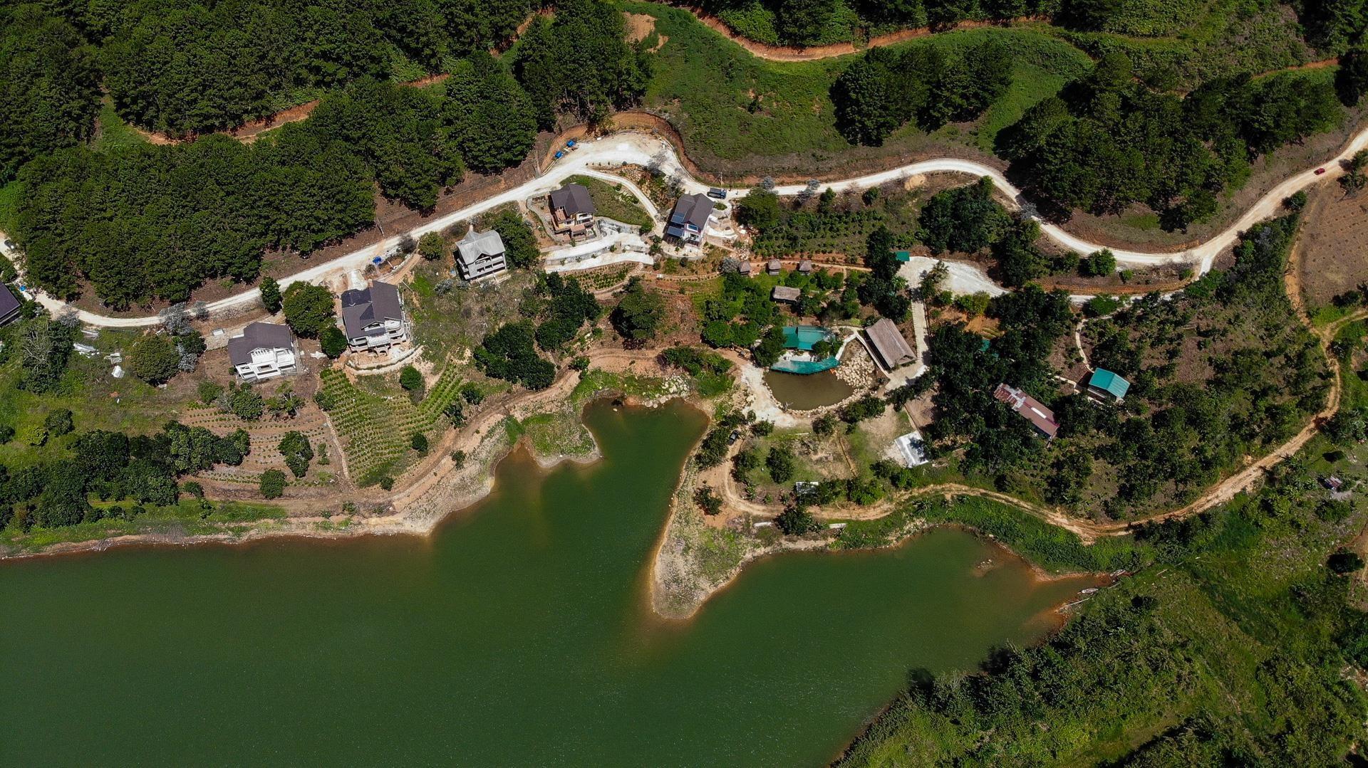 Nhiều dự án bất động sản sai phạm 'bao vây' hồ Tuyền Lâm ở Đà Lạt - Ảnh 3.