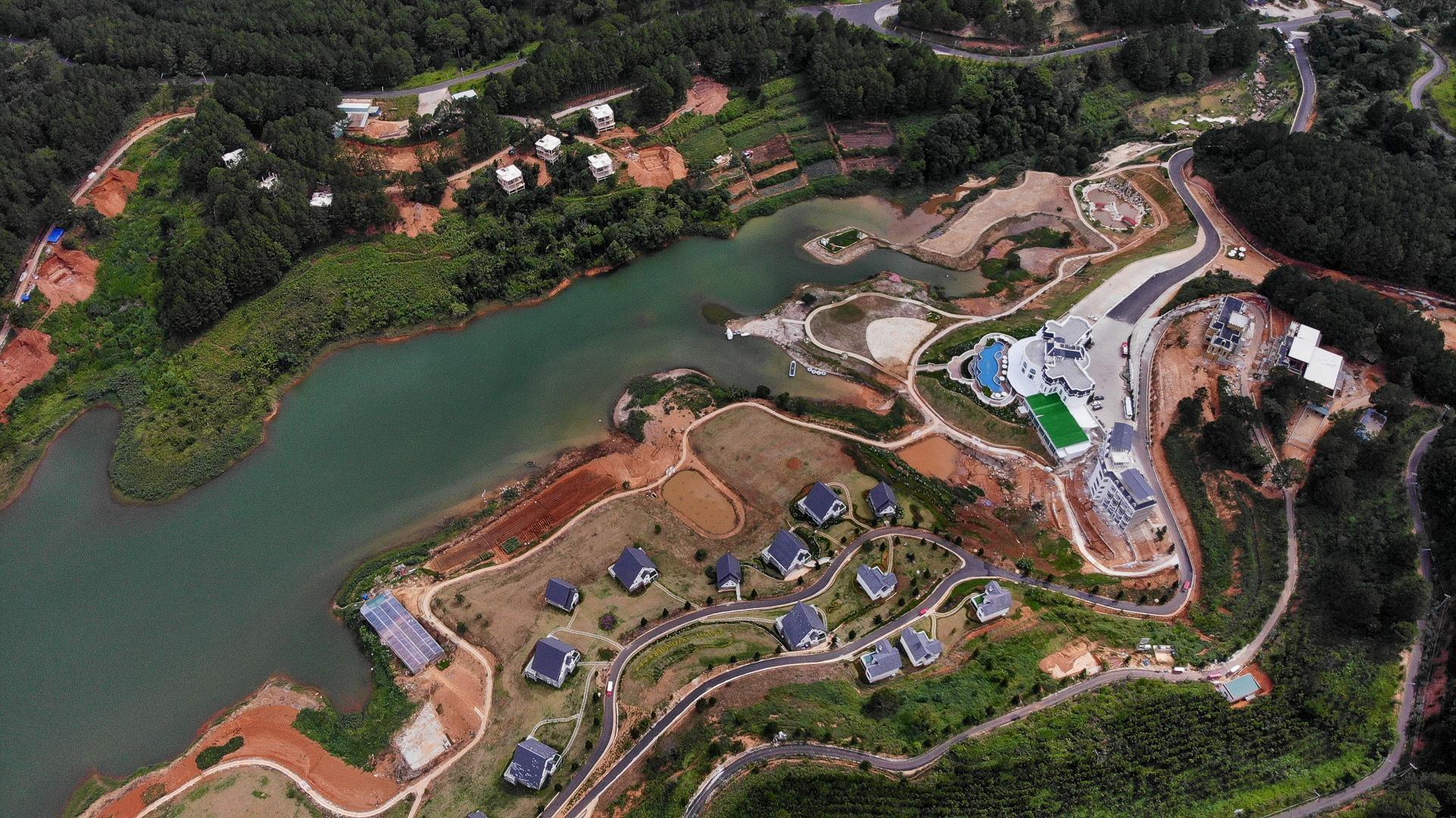 Nhiều dự án bất động sản sai phạm 'bao vây' hồ Tuyền Lâm ở Đà Lạt - Ảnh 4.