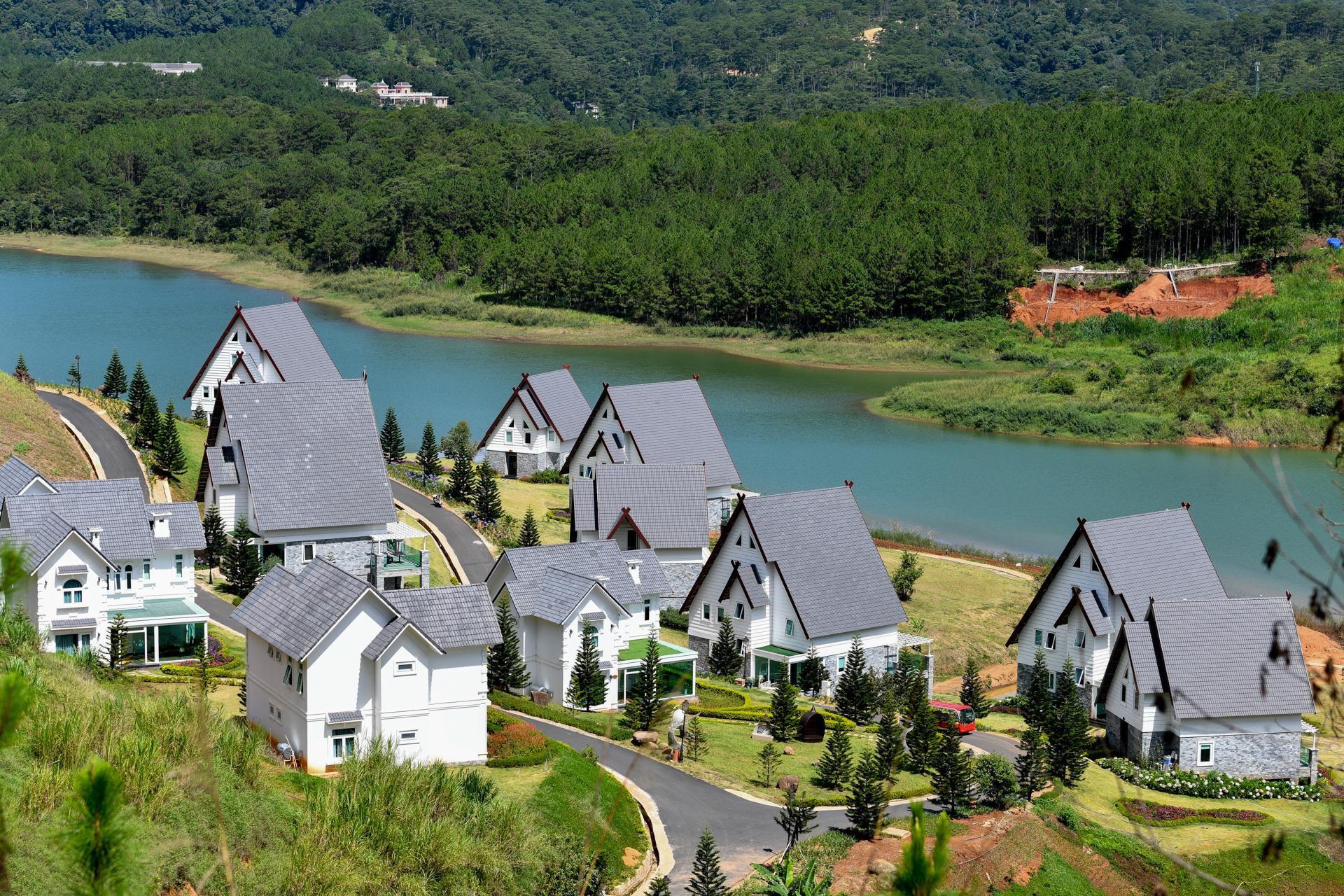Nhiều dự án bất động sản sai phạm 'bao vây' hồ Tuyền Lâm ở Đà Lạt - Ảnh 5.