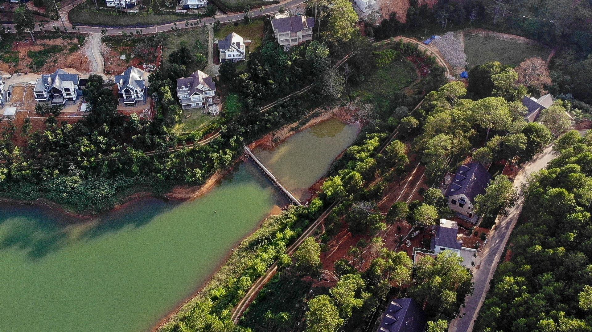 Nhiều dự án bất động sản sai phạm 'bao vây' hồ Tuyền Lâm ở Đà Lạt - Ảnh 8.