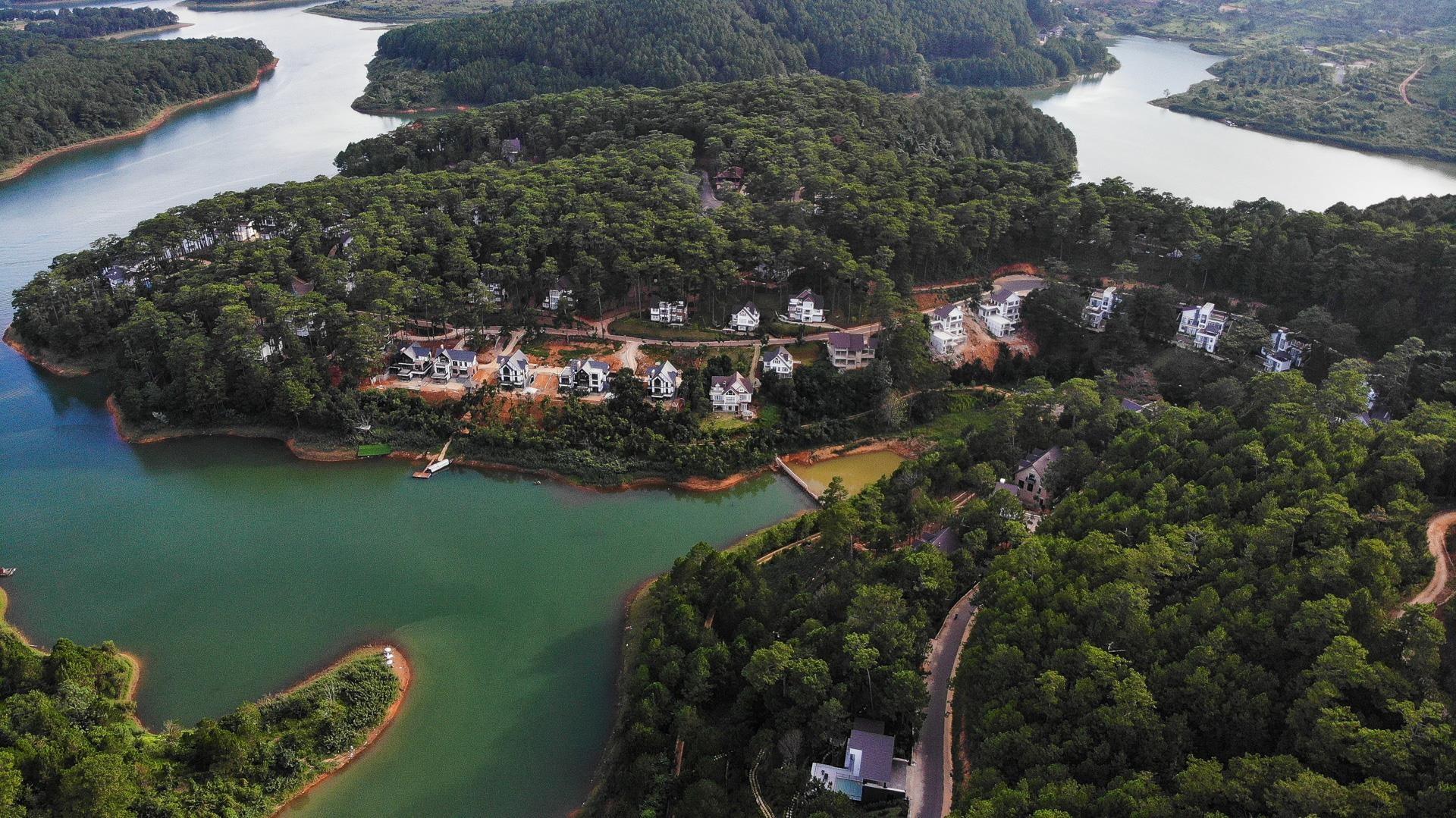Nhiều dự án bất động sản sai phạm 'bao vây' hồ Tuyền Lâm ở Đà Lạt - Ảnh 9.