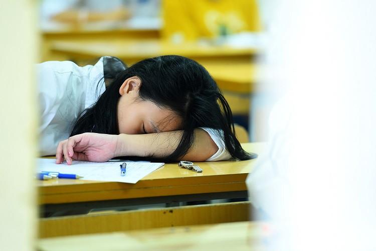 Thi lớp 10 ở Hà Nội: Em 8 điểm mỗi môn vẫn trượt, em 3 điểm đỗ  - Ảnh 1.