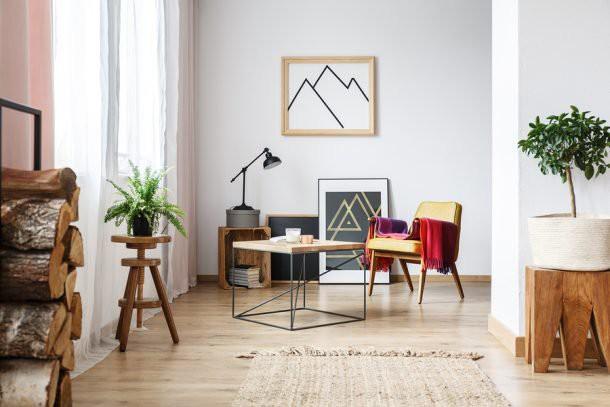 bigstock-Armchair-Minimalist-Poster-An-203817394-610x407