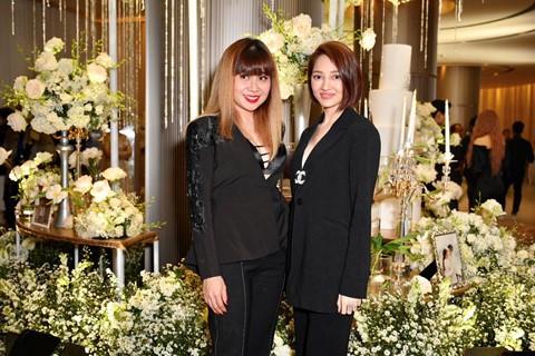 Trấn Thành cùng dàn sao dự tiệc cưới của Dương Khắc Linh và Sara Lưu - Ảnh 14.