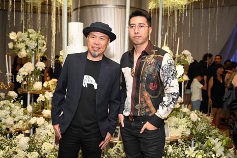 Trấn Thành cùng dàn sao dự tiệc cưới của Dương Khắc Linh và Sara Lưu - Ảnh 6.