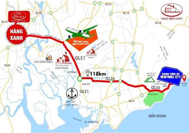 Địa ốc Alibaba lại quảng cáo dự án 'ảo', lần này ở Bình Thuận - Ảnh 1.