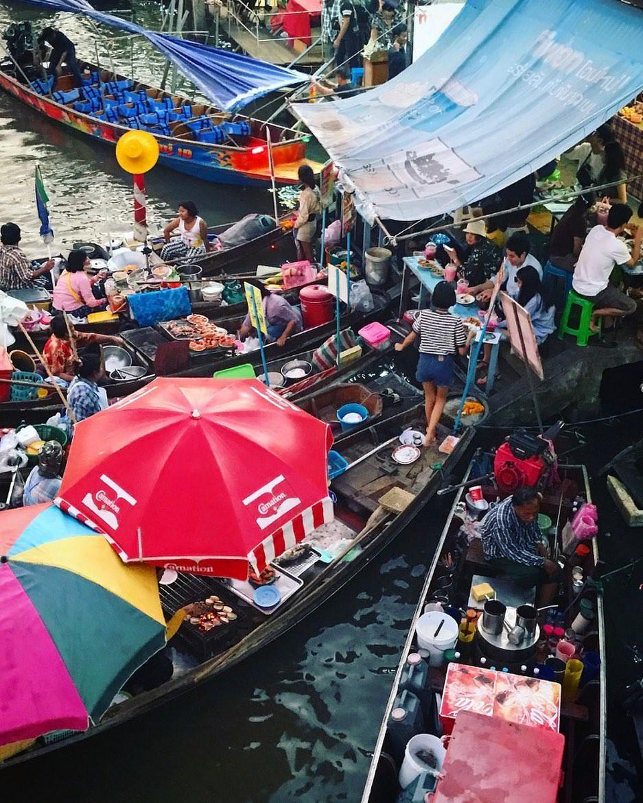 Chơi quên lối về tại những khu chợ nổi nhất định phải ghé ở Bangkok - Ảnh 13.