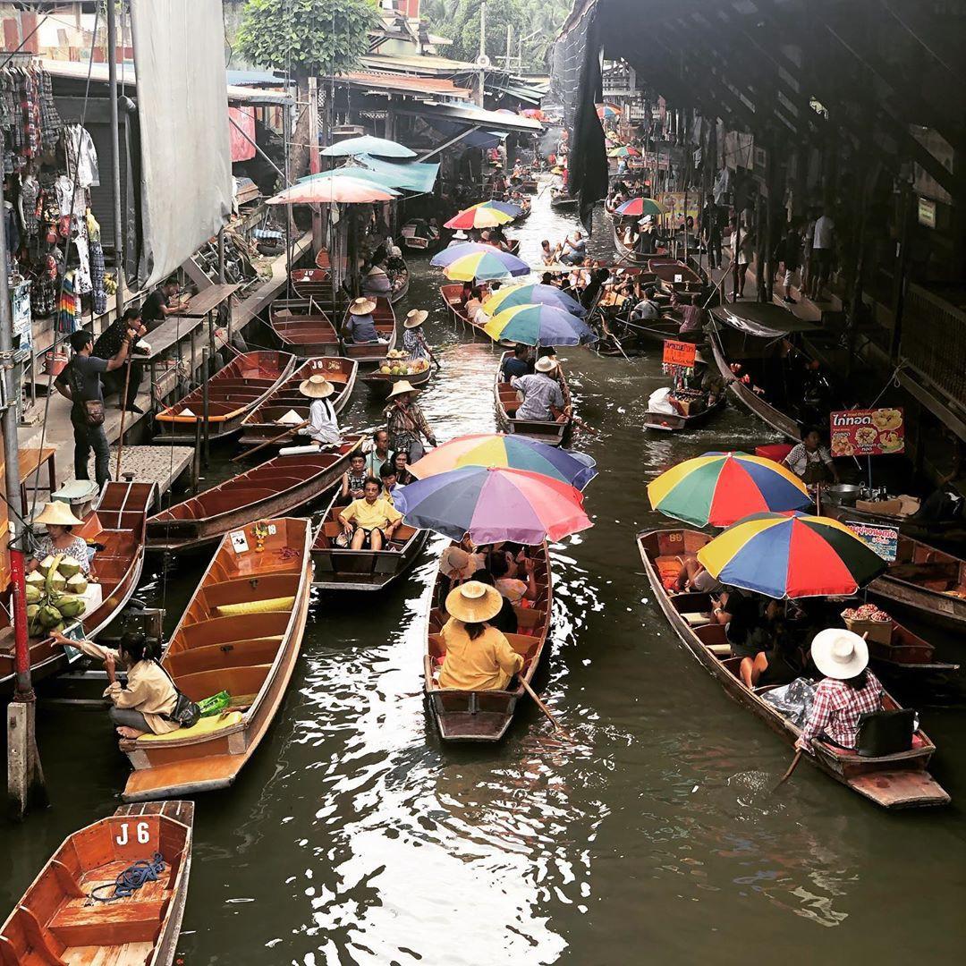 Chơi quên lối về tại những khu chợ nổi nhất định phải ghé ở Bangkok - Ảnh 24.
