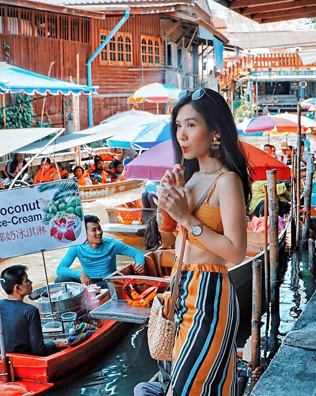 Chơi quên lối về tại những khu chợ nổi nhất định phải ghé ở Bangkok - Ảnh 7.