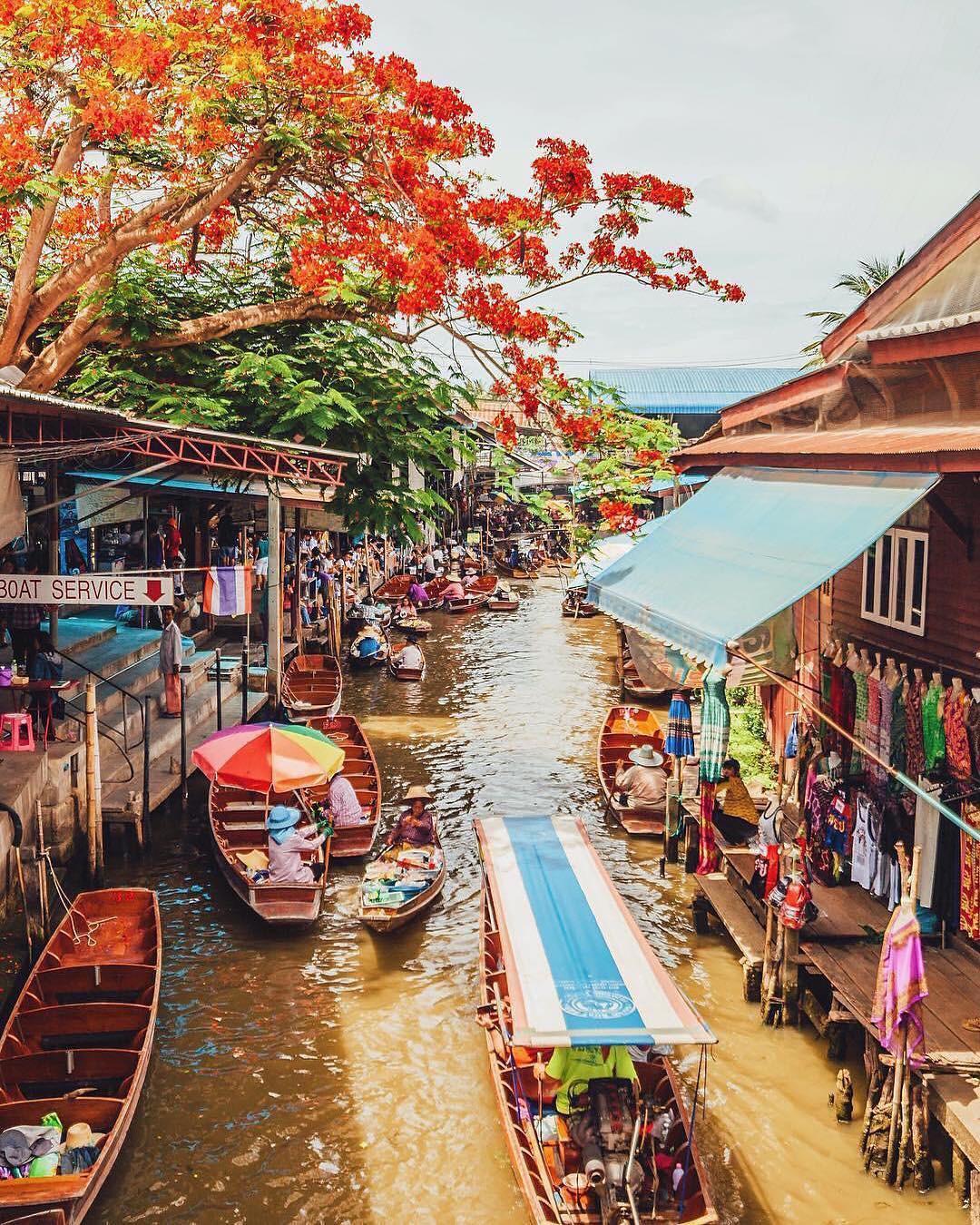 Chơi quên lối về tại những khu chợ nổi nhất định phải ghé ở Bangkok - Ảnh 9.