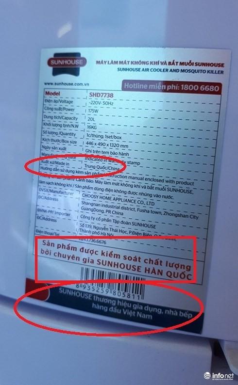 Sunhouse nói gì về hàng xuất xứ Trung Quốc, thương hiệu Hàn Quốc lại là hàng Việt Nam chất lượng cao? - Ảnh 2.
