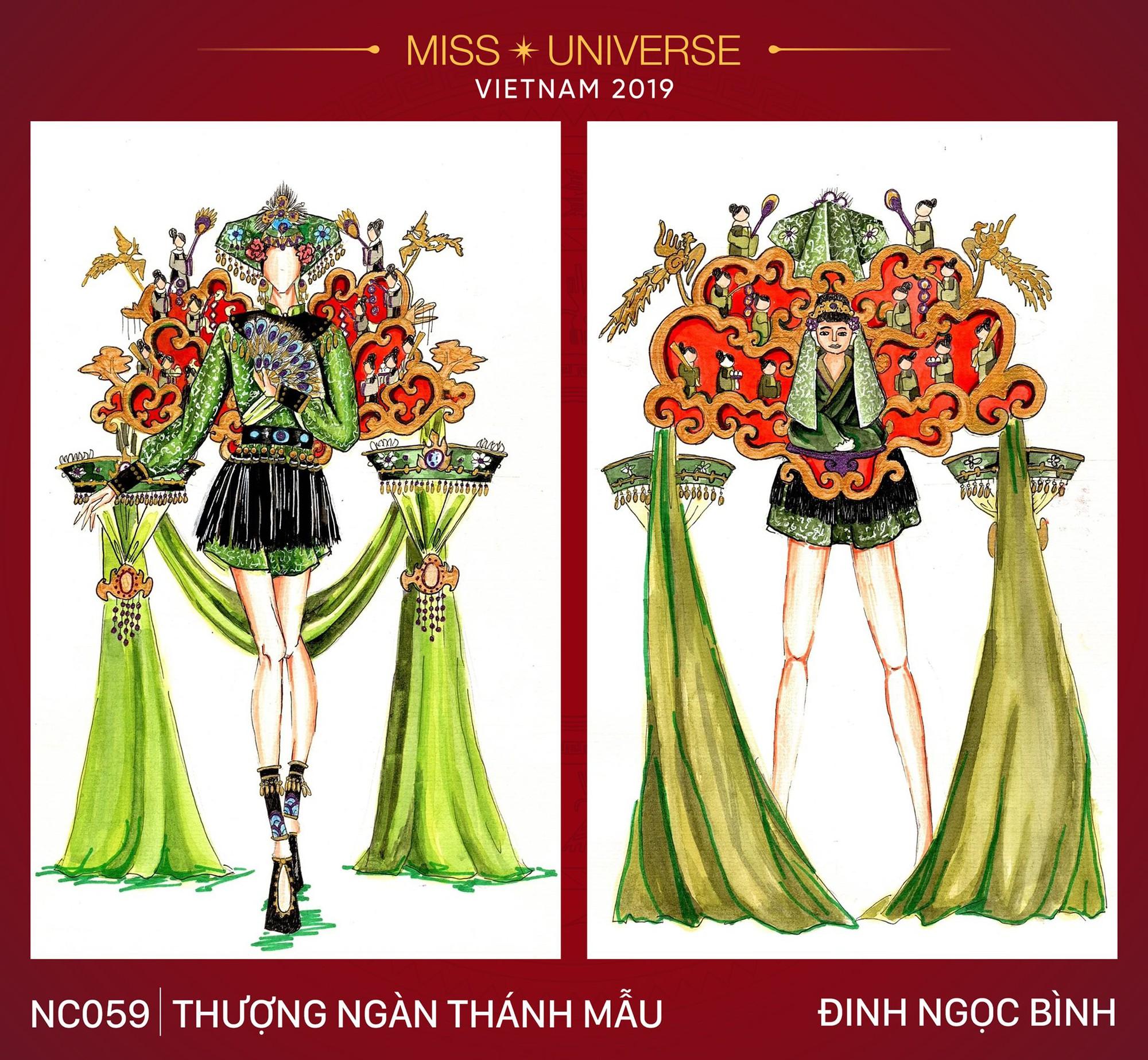 15 ý tưởng táo bạo dễ khiến Hoàng Thùy lọt Top tại Miss Universe 2019 - Ảnh 15.