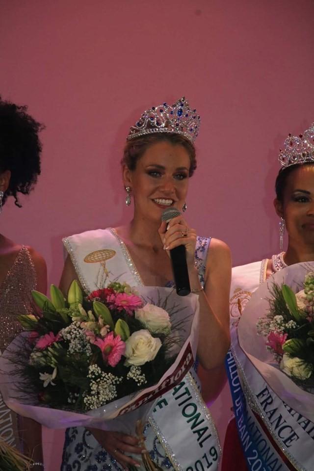 Vẻ đẹp đài các của Hoa hậu Quốc tế Pháp 2019  - Ảnh 1.
