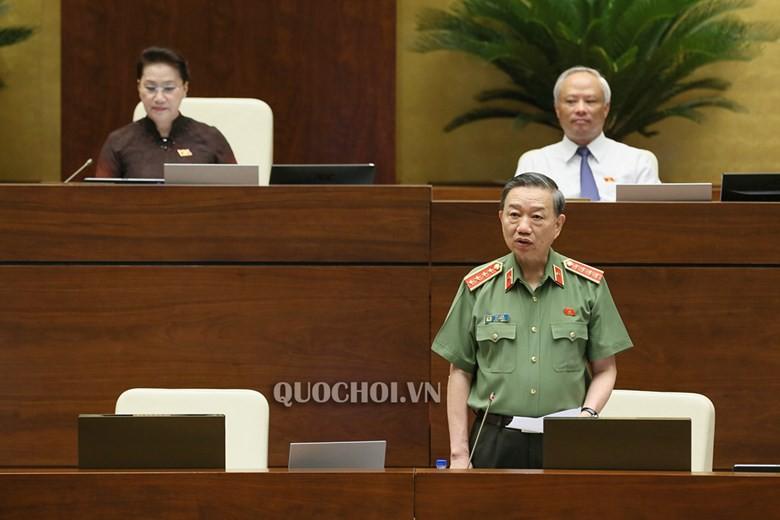 Bộ trưởng Tô Lâm: Thông tin cán bộ công an liên quan đến băng nhóm tội phạm nếu có chỉ là cá biệt - Ảnh 1.