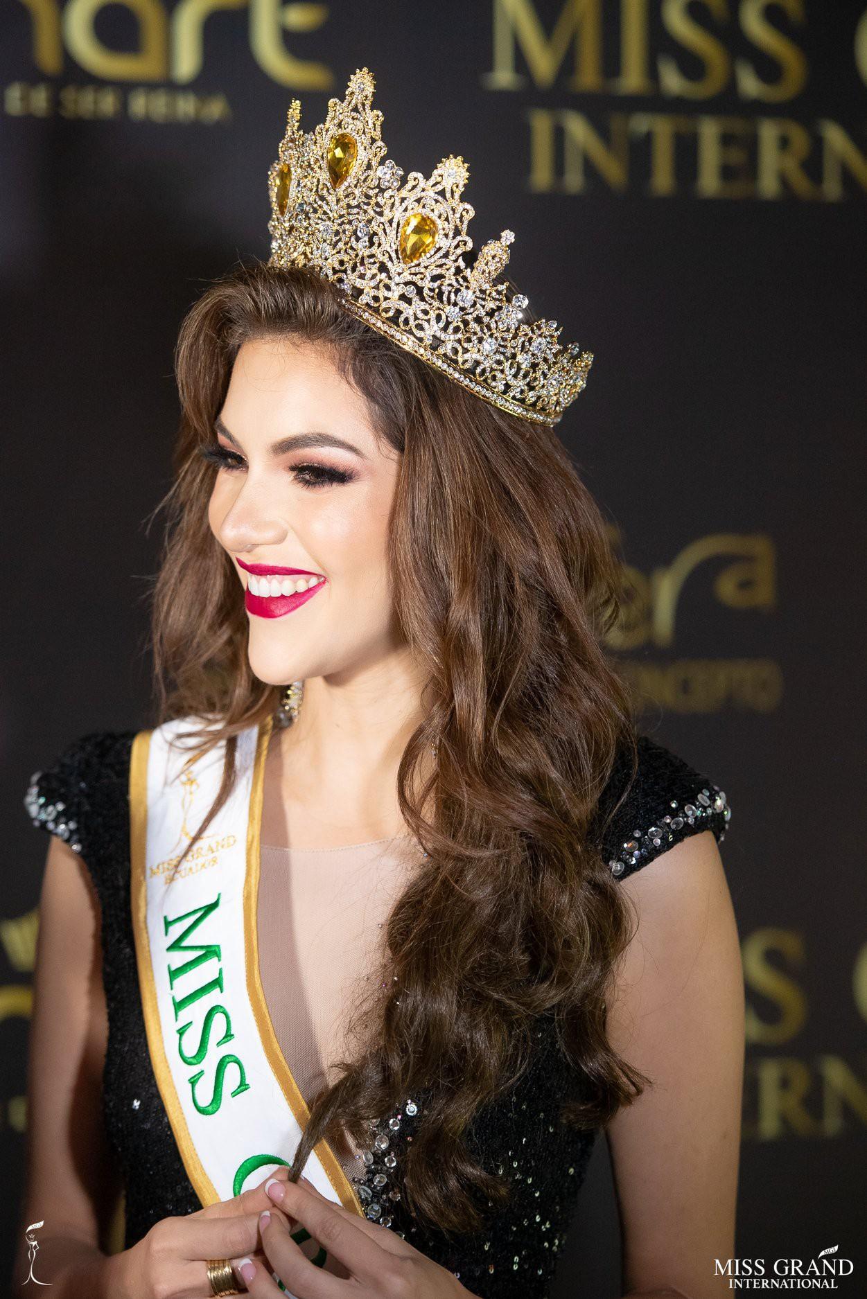 Nhan sắc rực rỡ của Hoa hậu Hòa bình Ecuador 2019  - Ảnh 5.