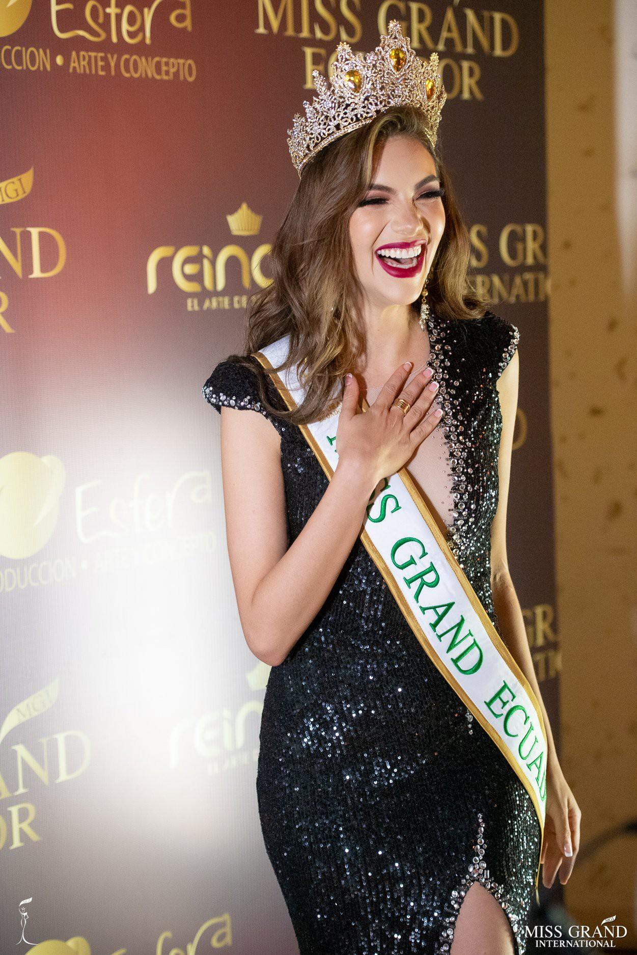 Nhan sắc rực rỡ của Hoa hậu Hòa bình Ecuador 2019  - Ảnh 4.