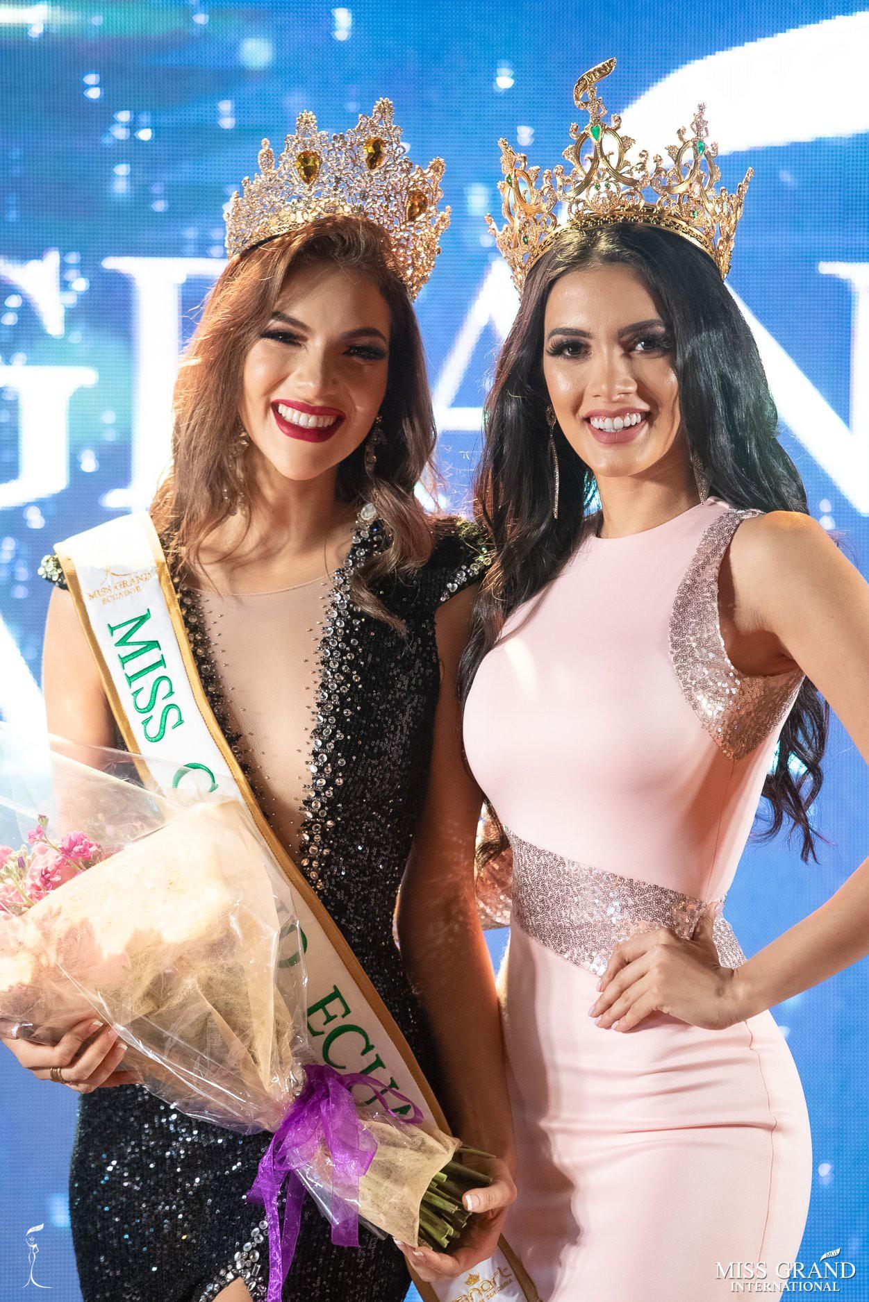 Nhan sắc rực rỡ của Hoa hậu Hòa bình Ecuador 2019  - Ảnh 2.