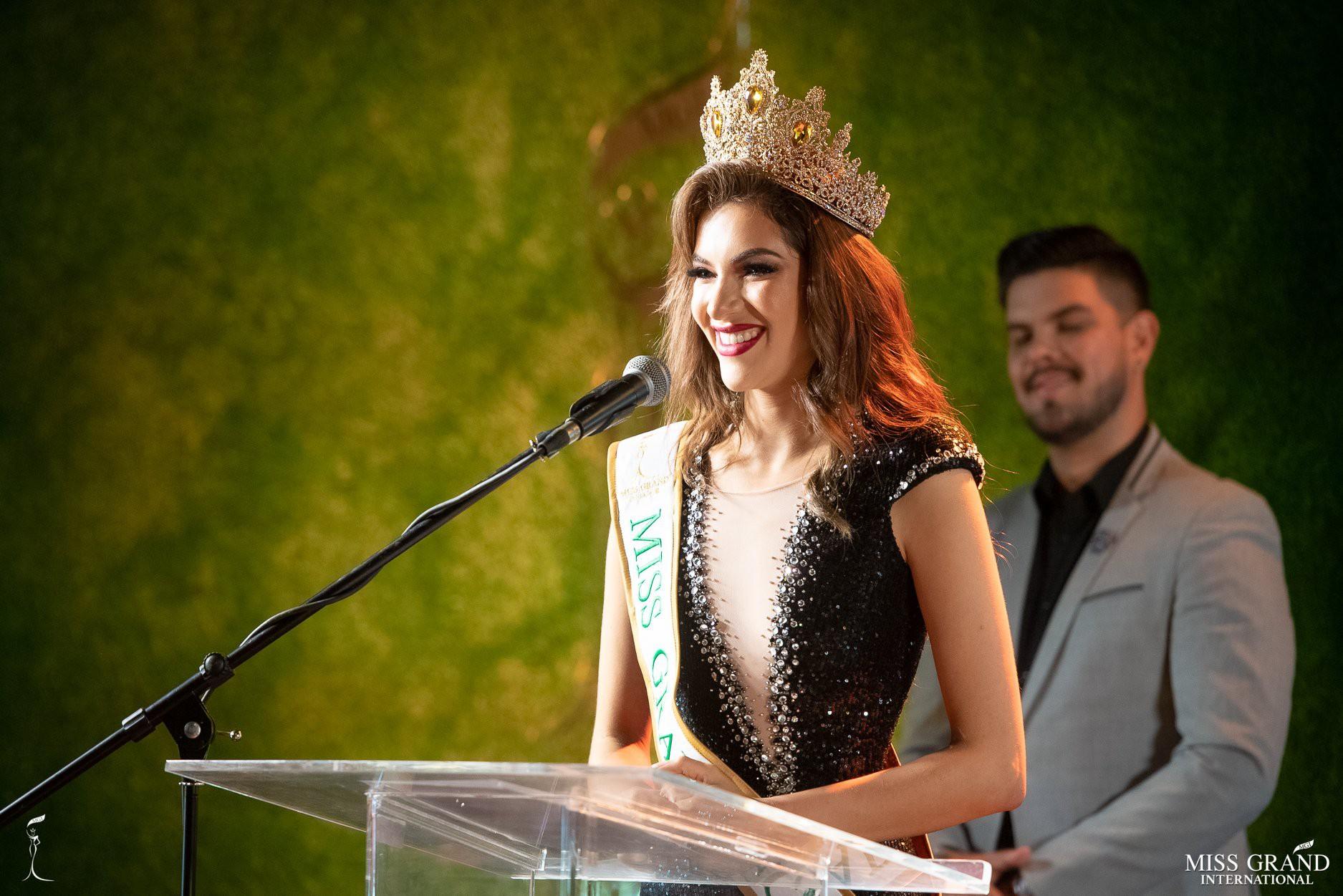 Nhan sắc rực rỡ của Hoa hậu Hòa bình Ecuador 2019  - Ảnh 7.