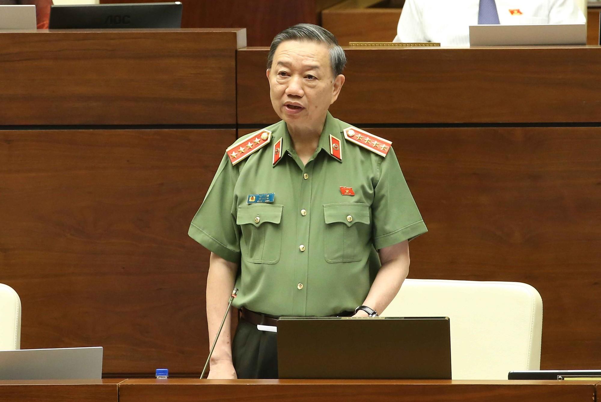 [Video] Bộ trưởng Tô Lâm: Chưa phát hiện được động cơ khác của tội phạm ma tuý ngoài lợi nhuận - Ảnh 3.