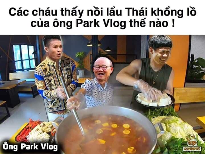 Cư dân mạng tung siêu phẩm ăn mừng trận thắng 1-0 của Việt Nam tại Kings Cup 2019 - Ảnh 5.