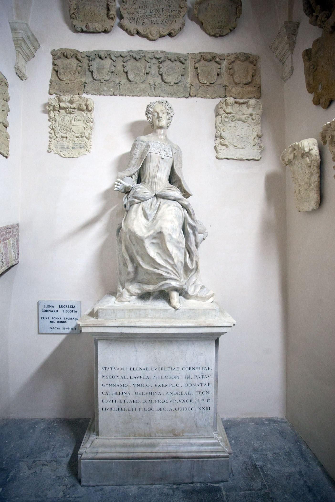 Elena Cornaro Piscopia - Nữ tiến sĩ triết học đầu tiên trên thế giới được Google kỷ niệm 373 năm ngày sinh - Ảnh 3.