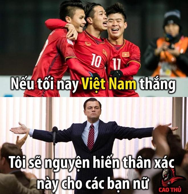 Dân mạng chế ảnh, cổ vũ tuyển Việt Nam trước trận gặp Thái Lan - Ảnh 2.