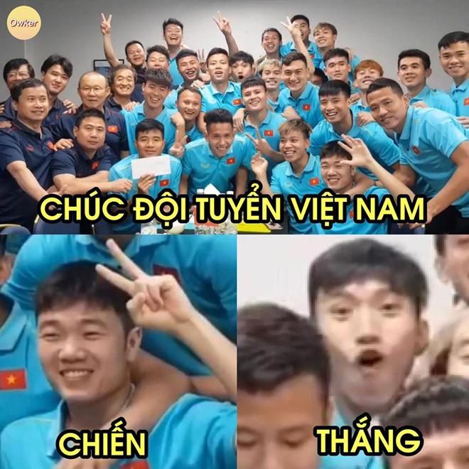 Dân mạng chế ảnh, cổ vũ tuyển Việt Nam trước trận gặp Thái Lan - Ảnh 6.