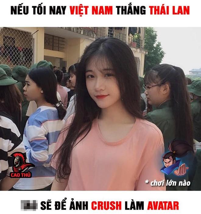 Dân mạng chế ảnh, cổ vũ tuyển Việt Nam trước trận gặp Thái Lan - Ảnh 7.