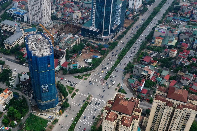 Rừng chung cư dọc tuyến đường ngoại giao ra sân bay Nội Bài - Ảnh 15.