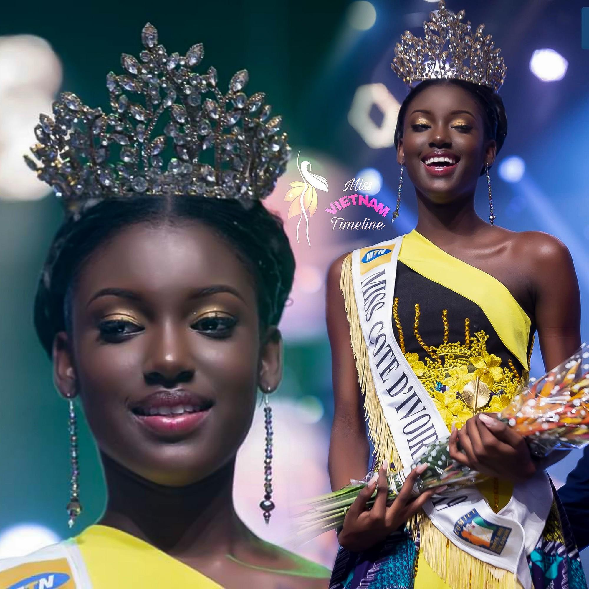 Ngọc đen Bờ Biển Ngà được kì vọng mang về cho châu Phi vương miện Hoa hậu Thế giới  - Ảnh 3.