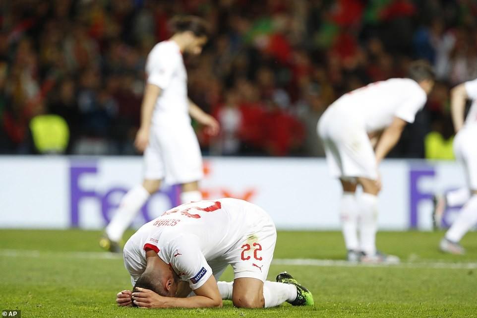 Ronaldo lập hat-trick, Bồ Đào Nha vào chung kết Nations League - Ảnh 10.