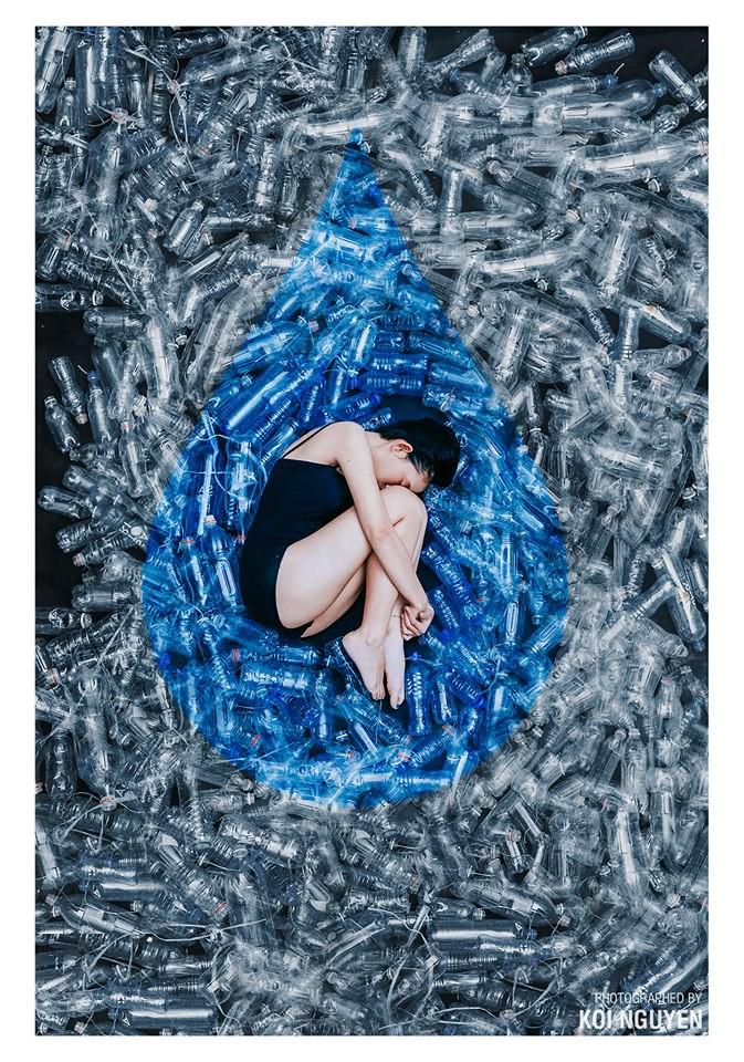 Khi nhiếp ảnh gia dùng nghệ thuật thay lời đại dương kêu cứu - Ảnh 1.