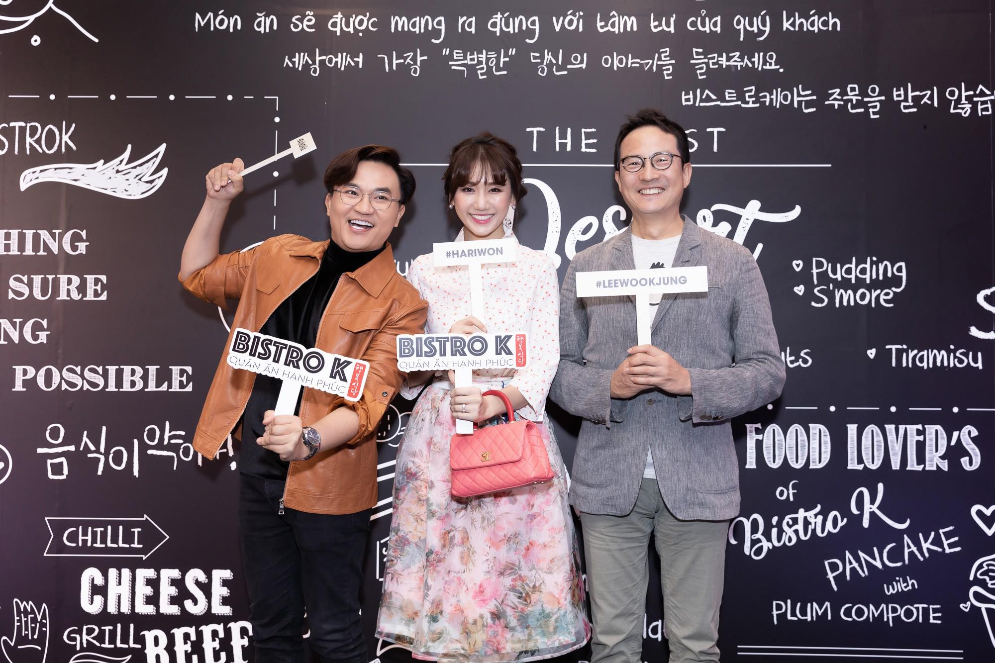 Đại Nghĩa tố Hari Won háu ăn, thường xuyên xin đồ ăn của khách mời - Ảnh 1.