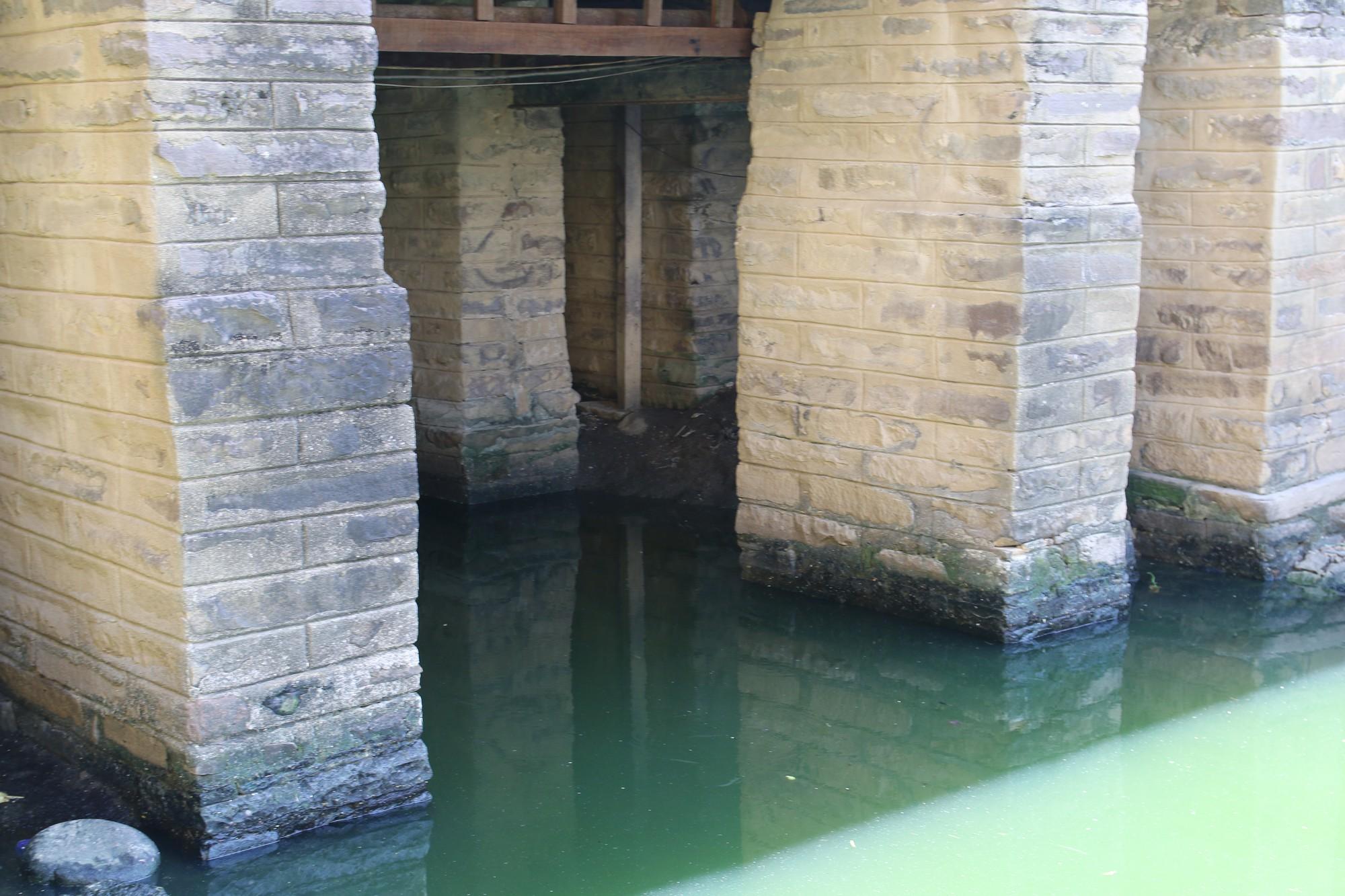 Khách du lịch nín thở vì nước thải, ô nhiễm ở Chùa Cầu Hội An - Ảnh 5.