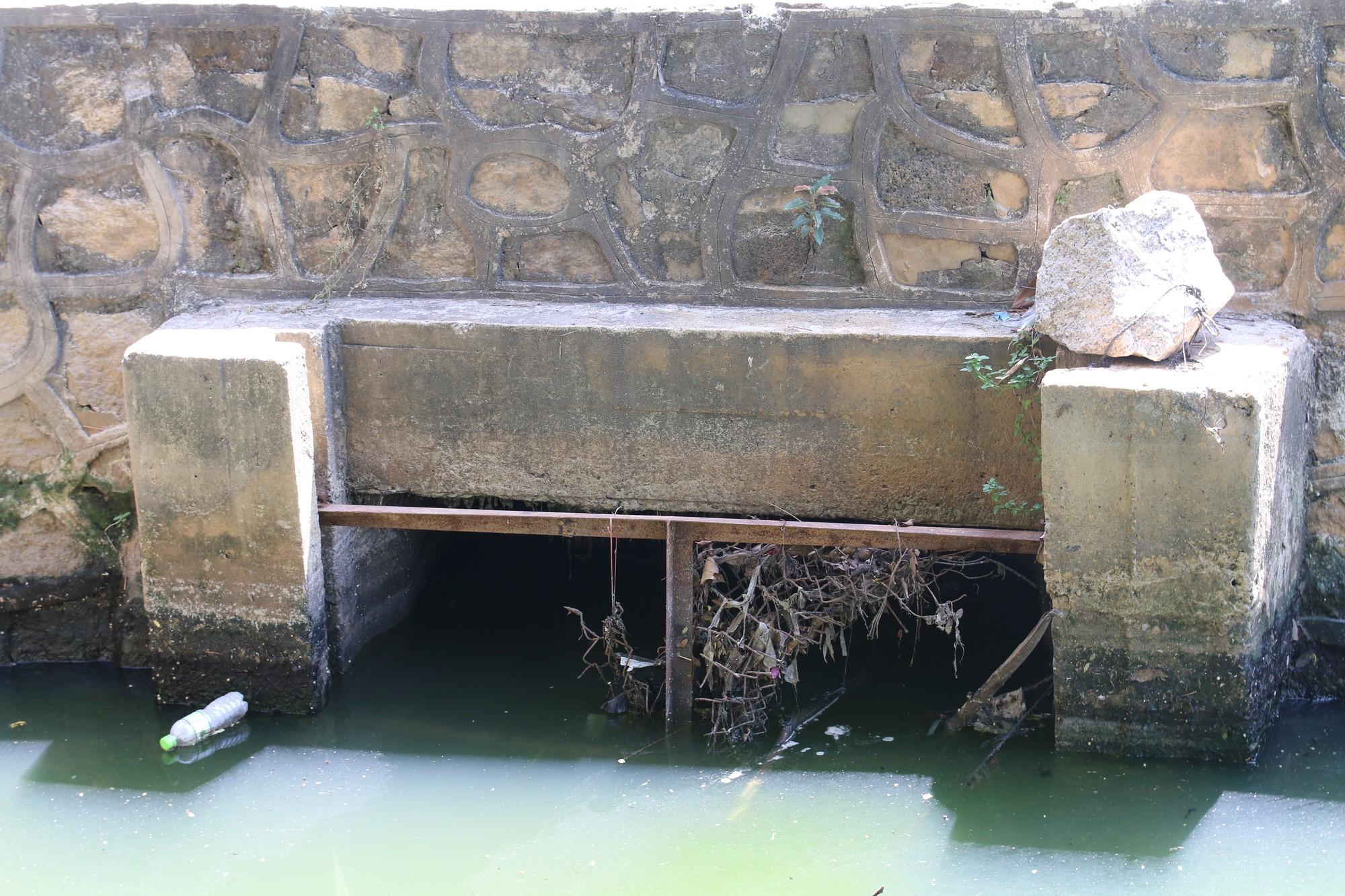 Khách du lịch nín thở vì nước thải, ô nhiễm ở Chùa Cầu Hội An - Ảnh 9.