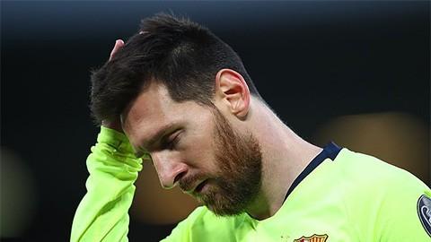 Con trai Messi xát muối vào nỗi đau của bố - Ảnh 1.