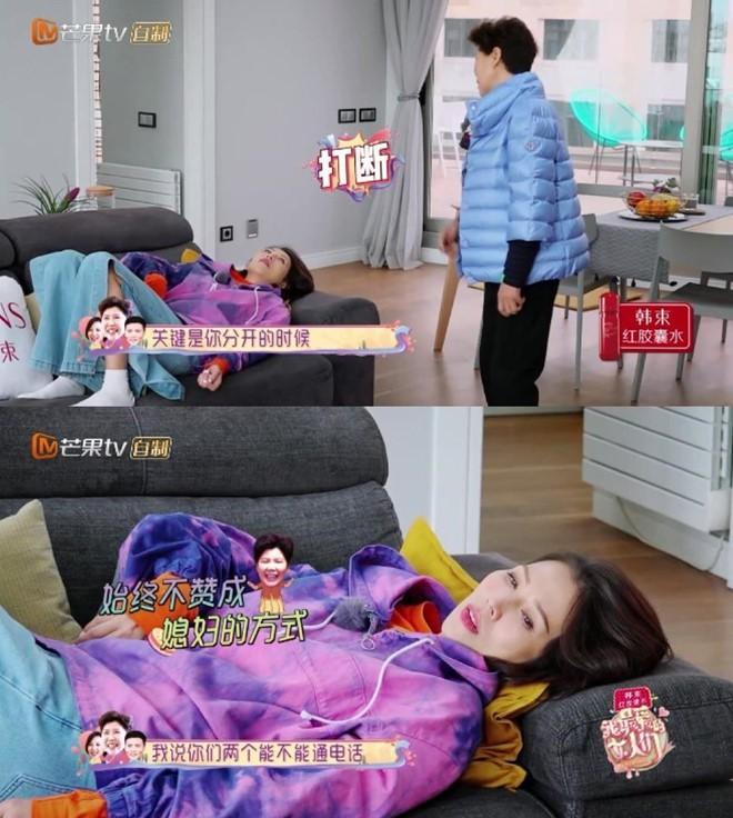 Đại hoa đán TVB bị mẹ chồng chỉ trích ngay trên truyền hình - Ảnh 1.