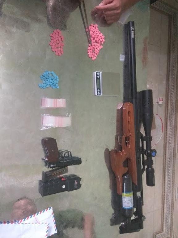 Cảnh sát thu giữ nhiều súng, đạn và ma túy của nhóm dân bay ở Vĩnh Phúc - Ảnh 3.