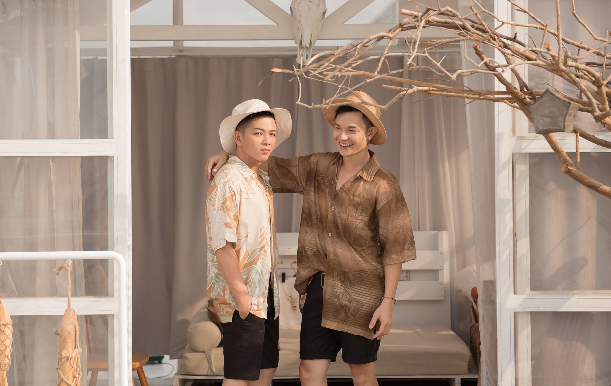 Ngắm nhìn những bức ảnh đẹp của cặp đôi LGBT Sơn Tùng và Đức Hiền của Người ấy là ai tập 8  - Ảnh 3.