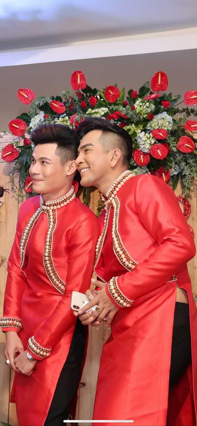 Đám cưới của cặp LGBT điển trai khiến cư dân mạng xôn xao: Hạnh phúc luôn là sự chân thành và chia sẻ  - Ảnh 6.