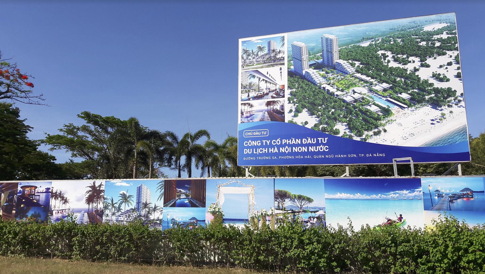 Dự án nghỉ dưỡng 756 tỉ đồng của công ty Đầu tư du lịch Hà Nội Non Nước tại Đà Nẵng lại trễ hẹn - Ảnh 1.