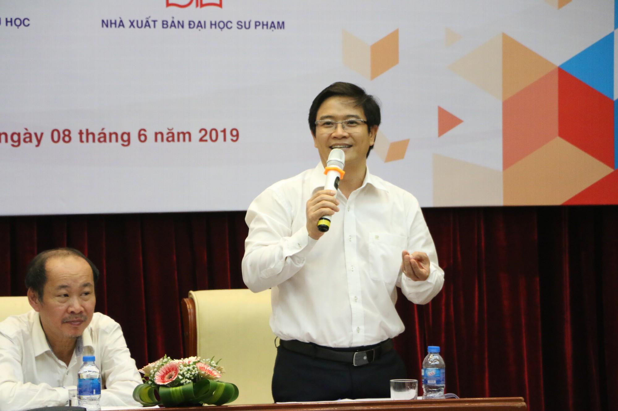 GS Nguyễn Minh Thuyết: Đã có 4 - 5 nhà xuất bản chuẩn bị sách giáo khoa cho chương trình GDPT mới - Ảnh 2.