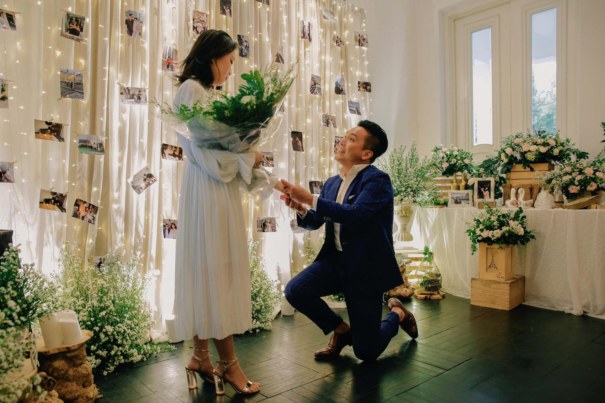 Chân dung bạn trai Việt Kiều vừa cầu hôn MC Liêu Hà Trinh   - Ảnh 3.