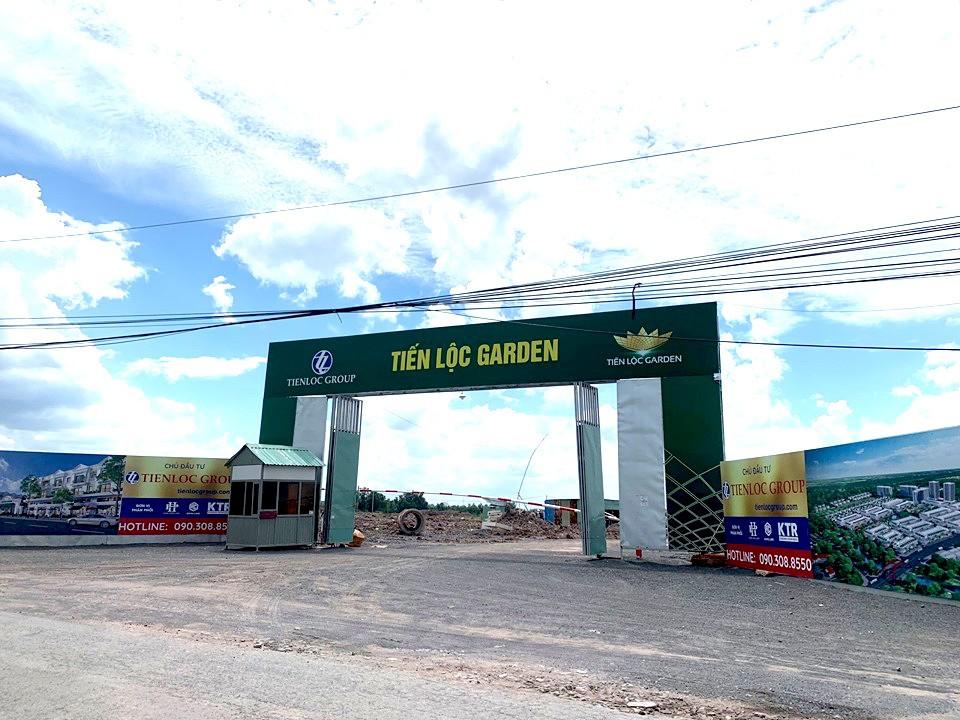 Dự án Tiến Lộc Garden: Ngang nhiên mở bán khi chưa hoàn thiện pháp lí - Ảnh 1.