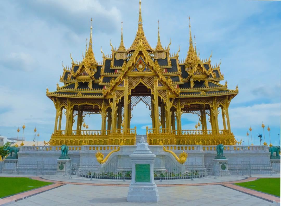 Đến Bangkok nhất định phải ghé thăm 3 cung điện siêu thực này - Ảnh 11.