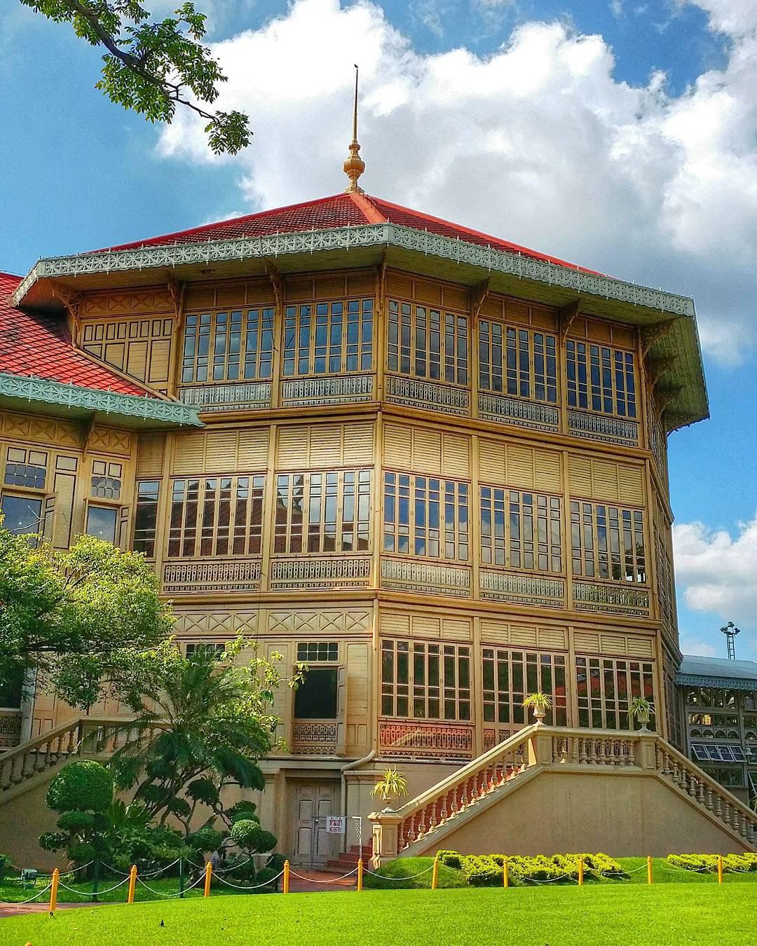 Đến Bangkok nhất định phải ghé thăm 3 cung điện siêu thực này - Ảnh 12.
