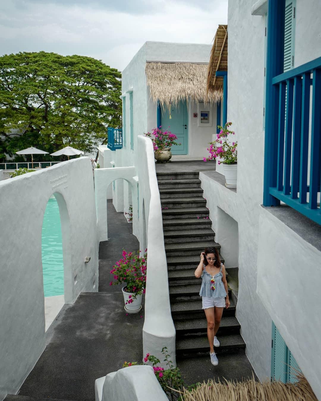 Điều gì khiến Hua Hin được mệnh danh là Santorini của Thái Lan - Ảnh 4.